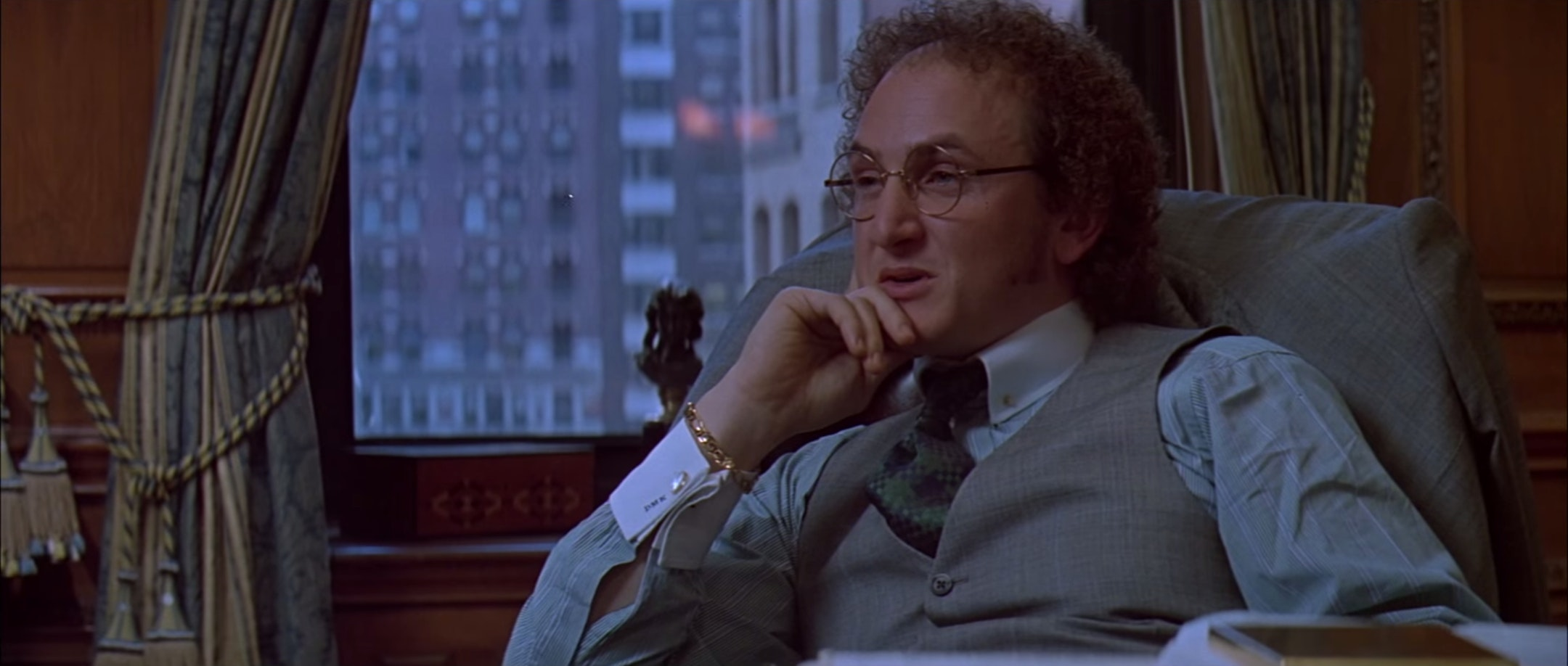 "Sean Penn in 'Carlito's Way' was a physical inspiration for Steve Lemme's ""Fink"" in 'Beerfest.'"