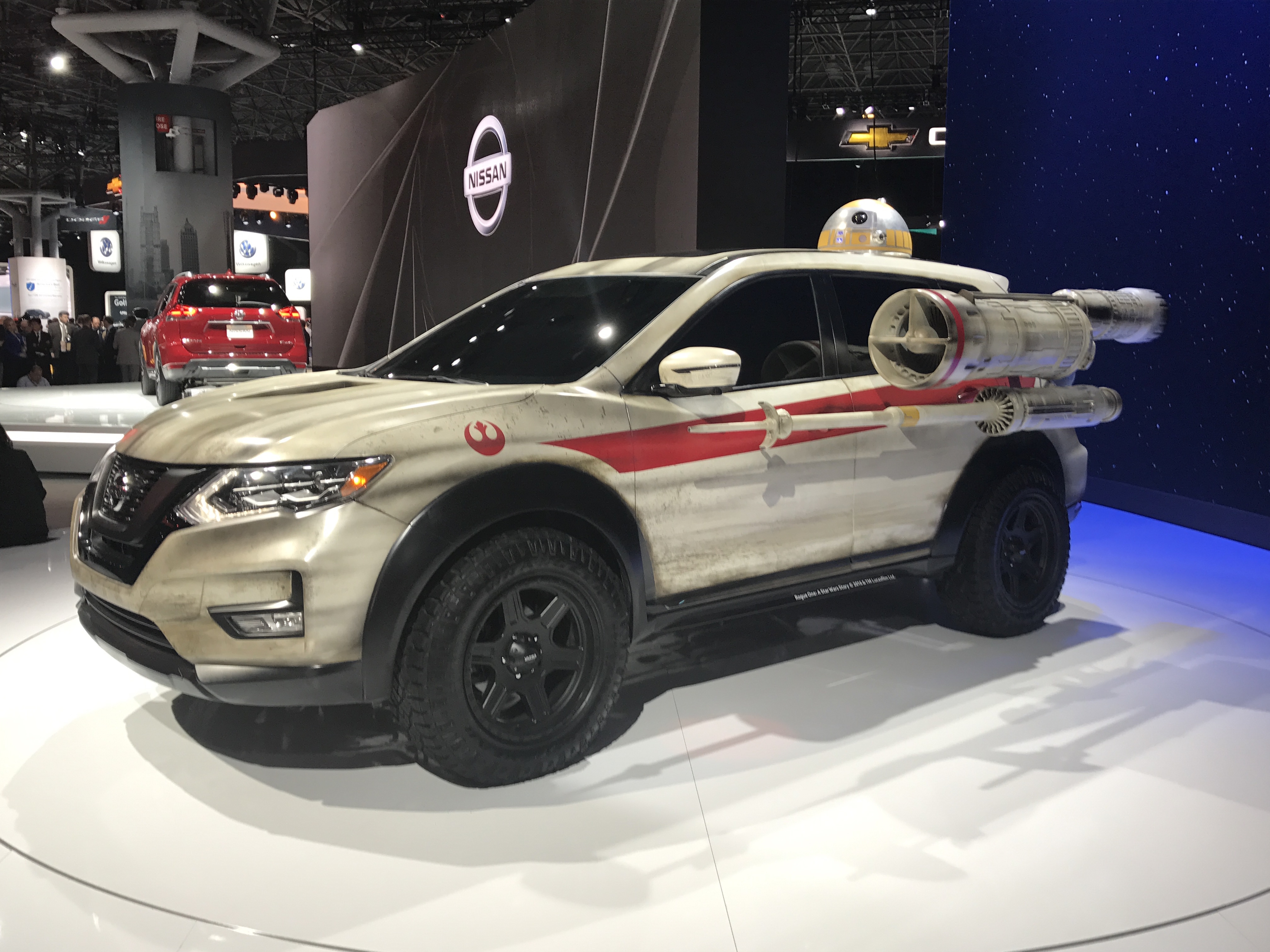 Nissan Shows Off Wild Star Wars Mods On Its Rogue Suv Inverse