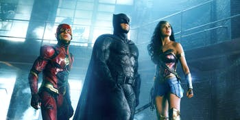 Wonder Woman, Batman, The Flash -- 'Justice League'
