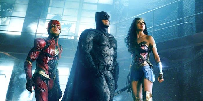 Wonder Woman, Batman, The Flash -- 'Justice League'