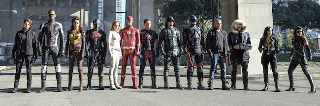 Arrow Flash Supergirl Crisis on Earth-X