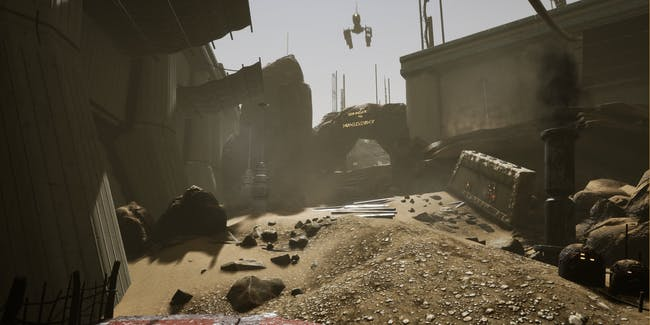 The famed Tatooine as it appears in 'Apeiron.'