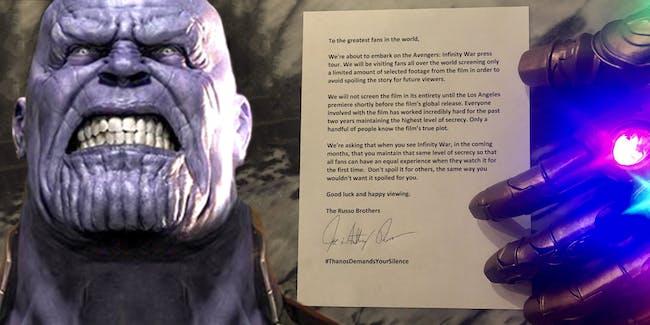 Thanos spoilers