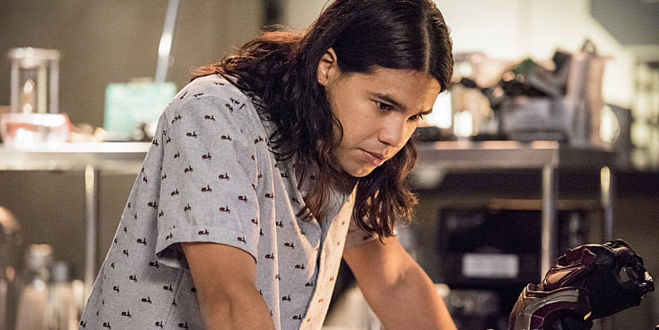 Cisco Ramon The Flash Carlos Valdes