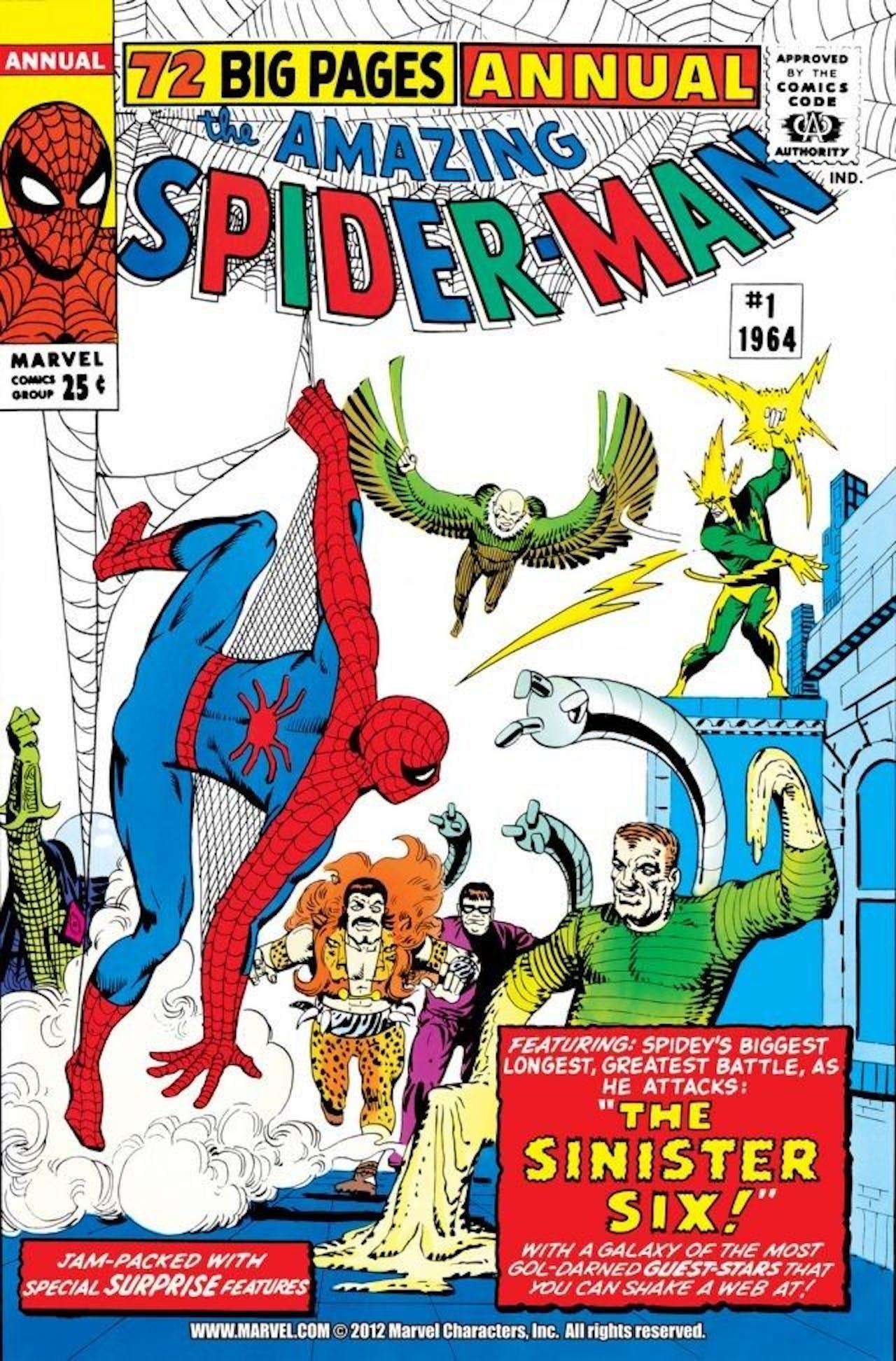 Spider-Man Mysterio Sinister Six