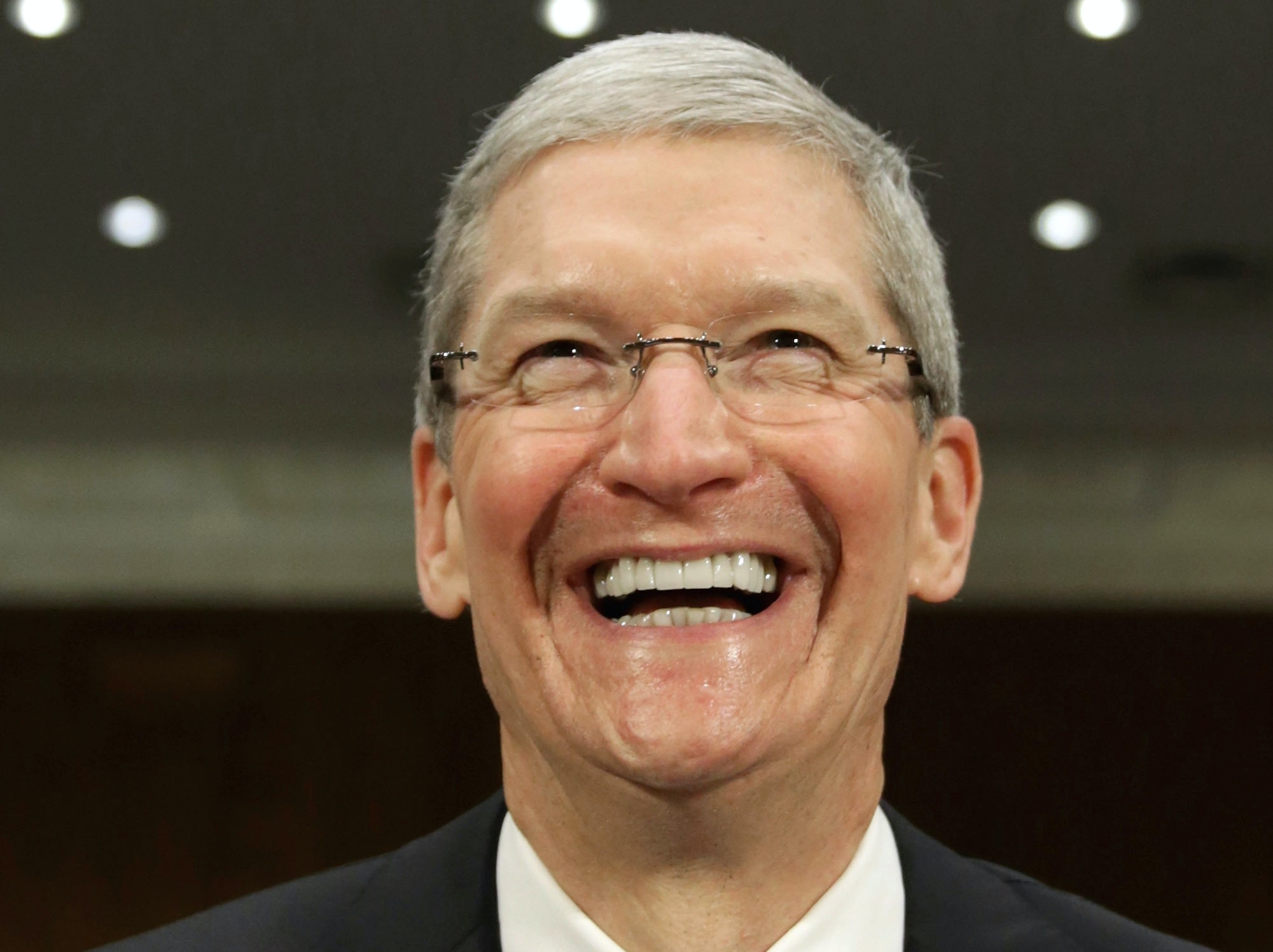 """Tim Cook on A.I.: """"I Don't Think We Have to Throw Our Privacy Away"""""""