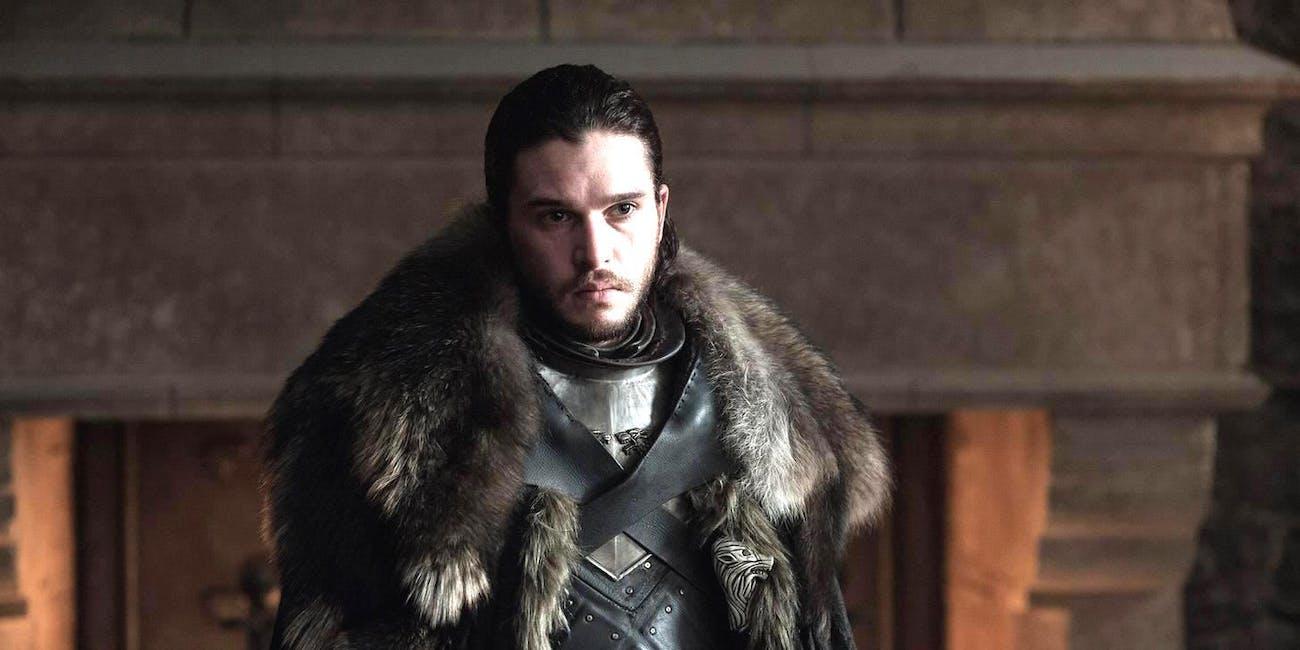 Jon Snow Targaryen in 'Game of Thrones' Season 7