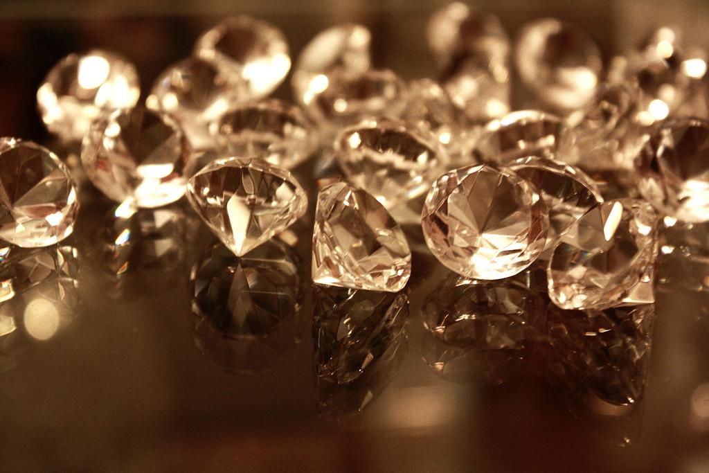 Diamonds - Magazine cover