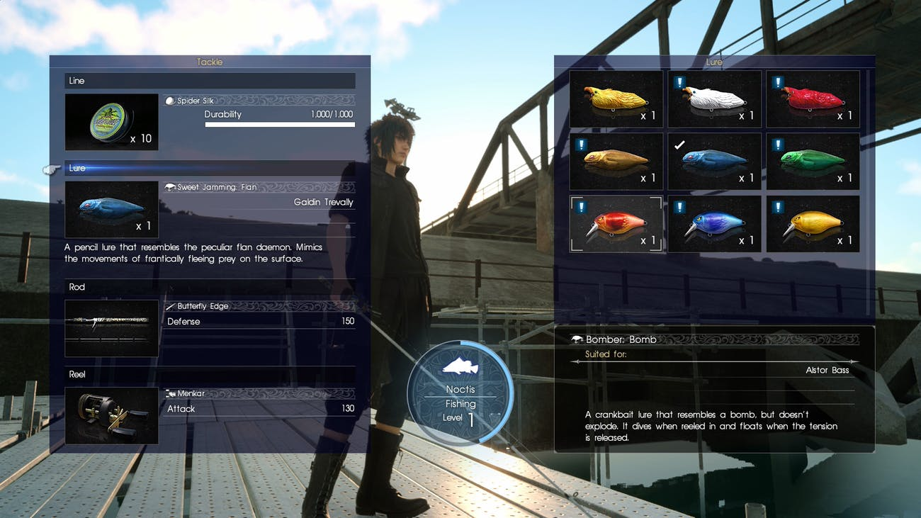 How to Get the Most Out of Fishing in 'Final Fantasy XV' | Inverse