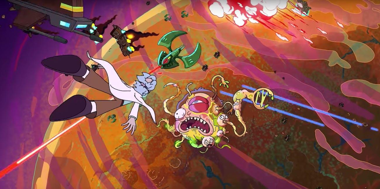 rick and morty season 4 credits morty mutation