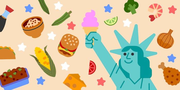 July 4 Google Doodle