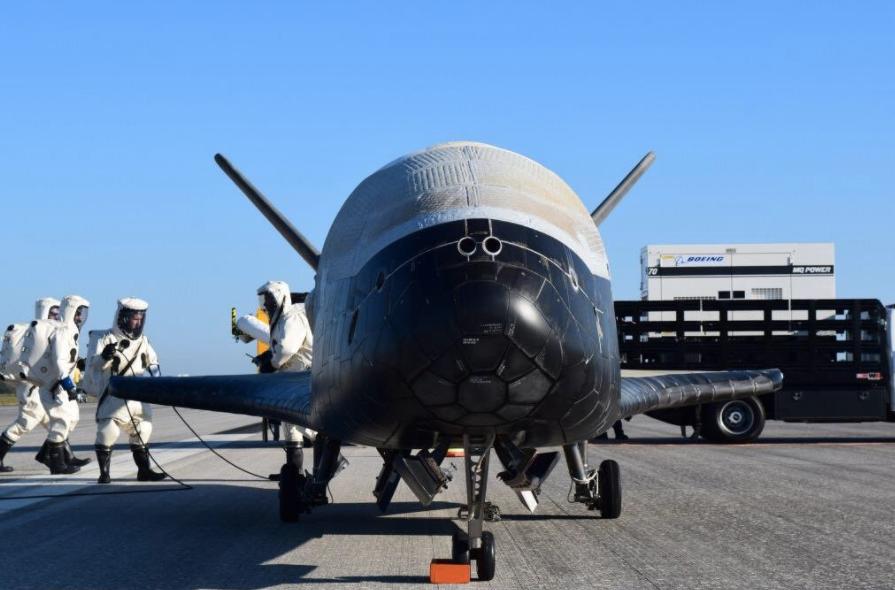X-37B found in orbit 56