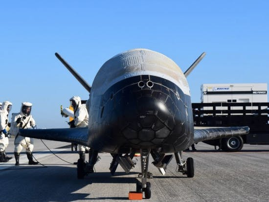 The Crusty X-37B Space Plane Is as Mysterious as It Is Dirty