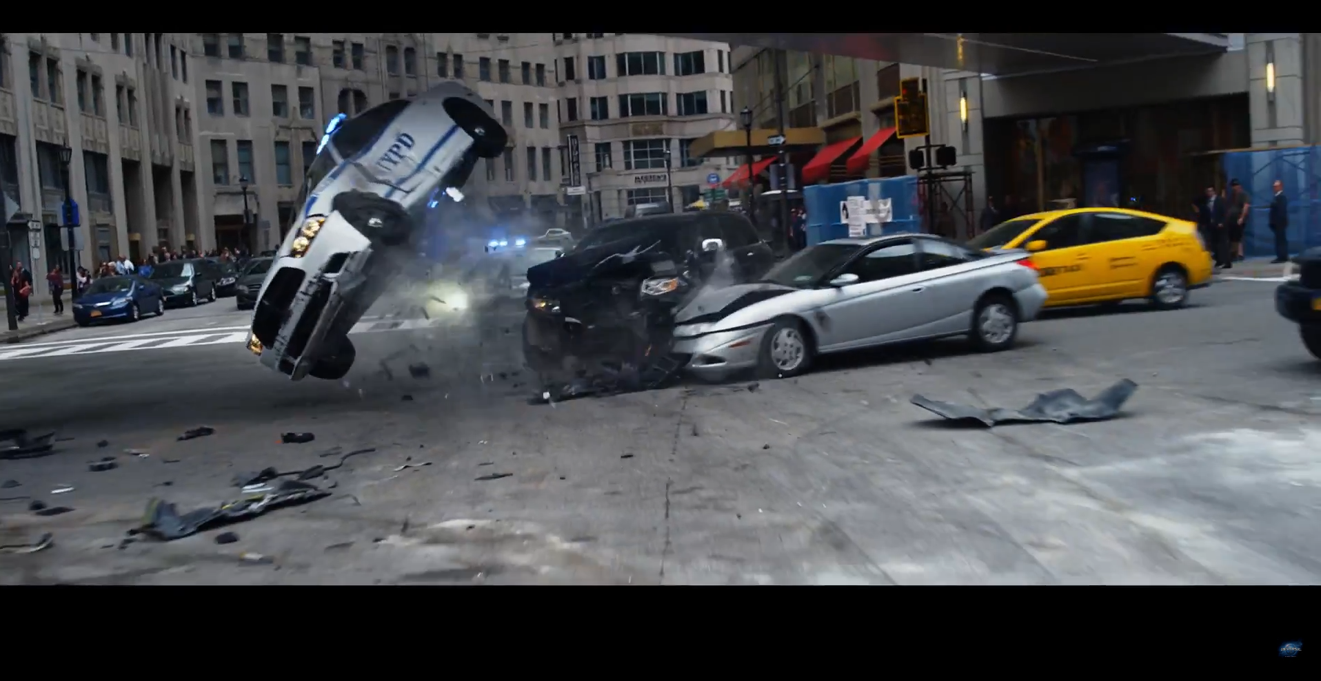 new fast and furious 8 trailer shows thousands of self driving cars in nyc inverse