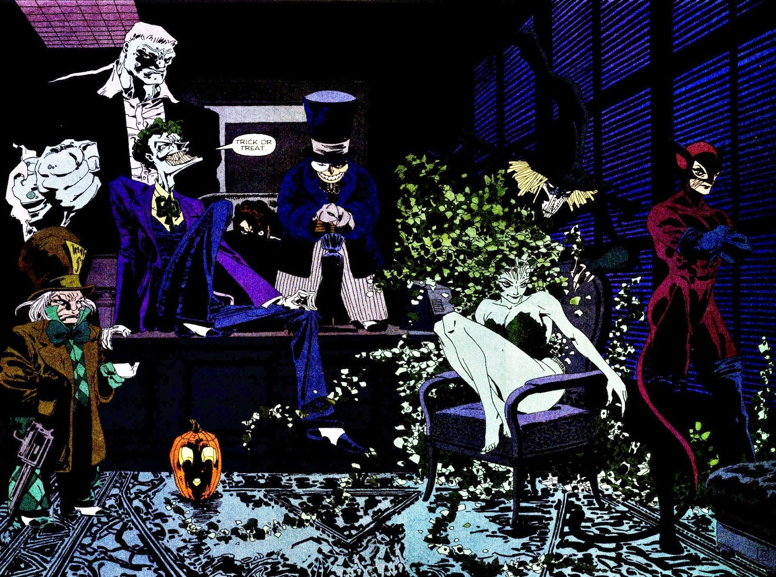 Batman: The Long Halloween from Jeph Loeb, Tim Sale and DC Comics
