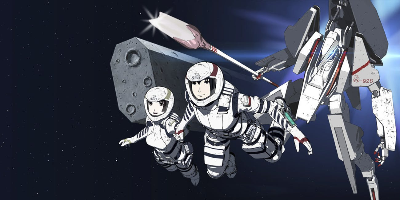 'Knights of Sidonia' is an apocalyptic space drama set in the far future.
