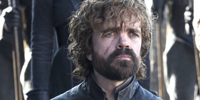 Peter Dinklage as Tyrion Lannister in 'Game of Thrones' Season 7