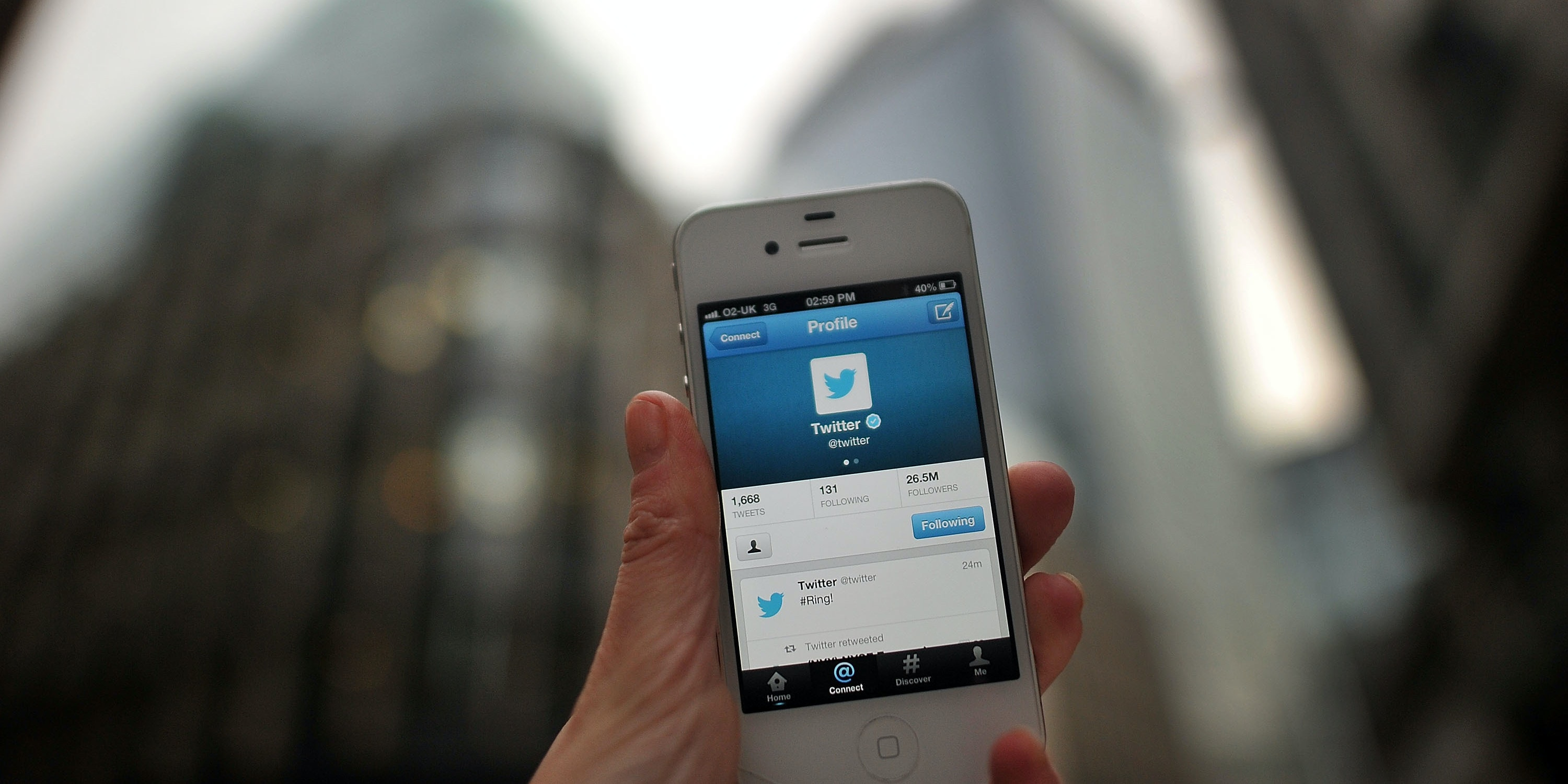 LONDON, ENGLAND - NOVEMBER 07:  In this photo illustration, communications from Twitter are displayed on a mobile device announcing the company's initial public offering and debut on the New York Stock Exchange on November 7, 2013 in London, England. Twitter went public on the NYSE opening at USD 26 per share, valuing the company's worth at an estimated USD 18 billion.  (Photo by Bethany Clarke/Getty Images)