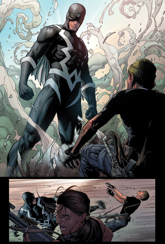 Black Bolt Inhumans Marvel