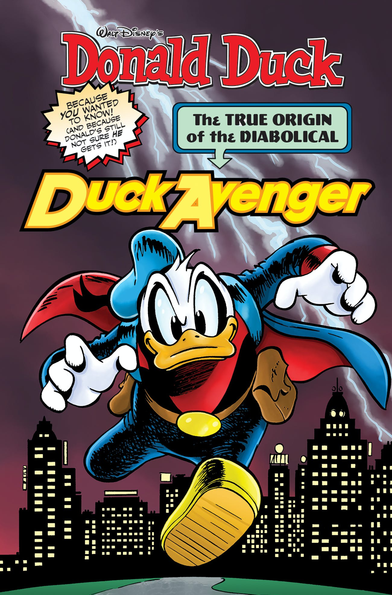 A History of Duck Avenger, the Donald Duck That Is Huge in