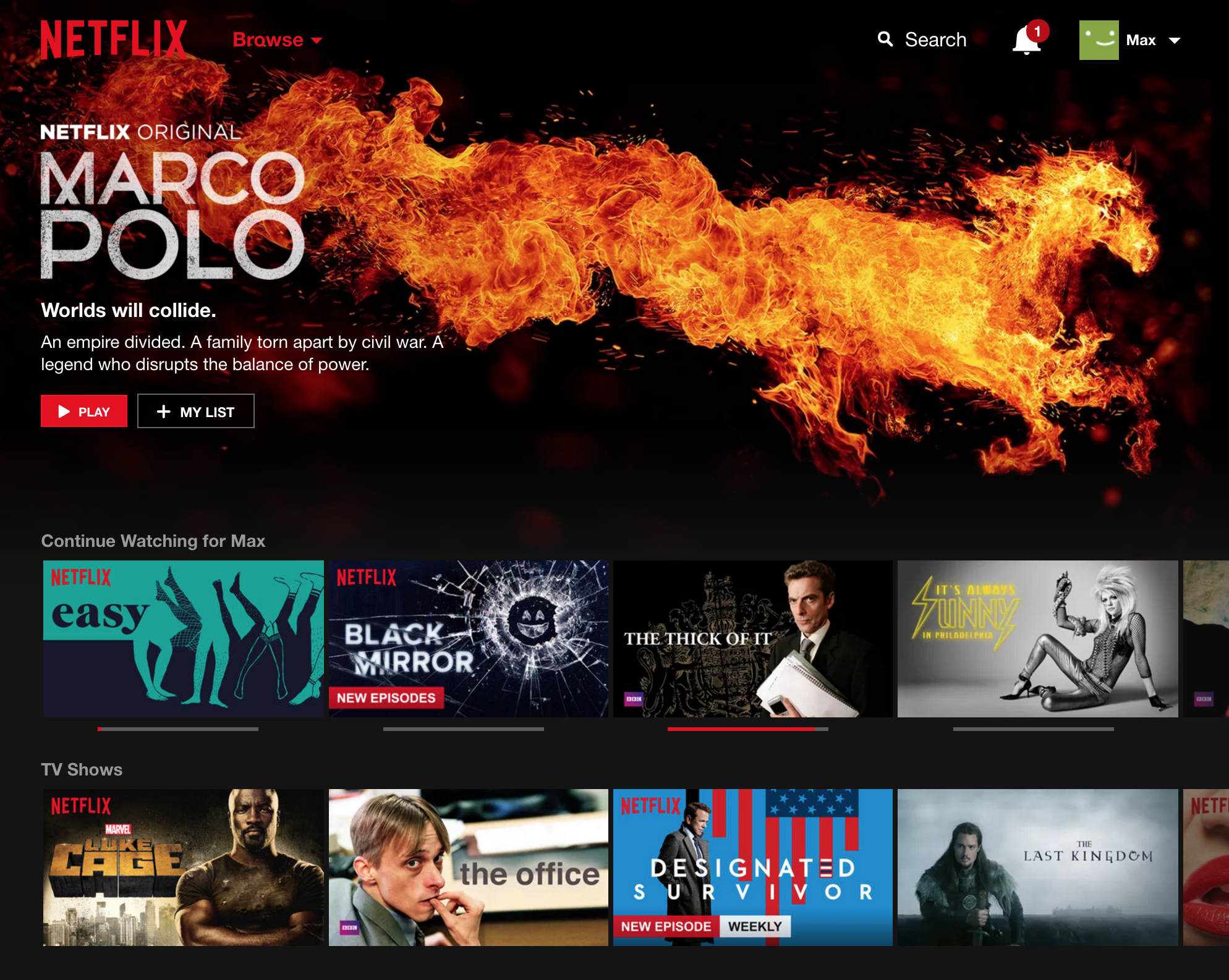 UK Netflix has about 3,000 titles, including more BBC and weekly shows.