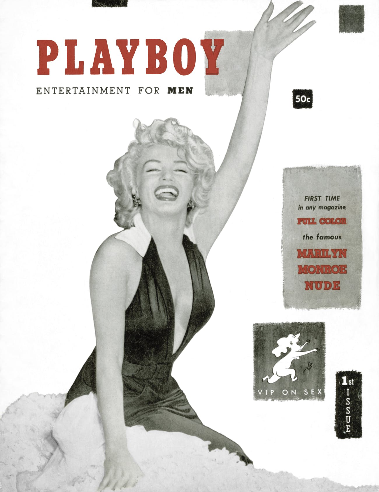 The first issue of Playboy.