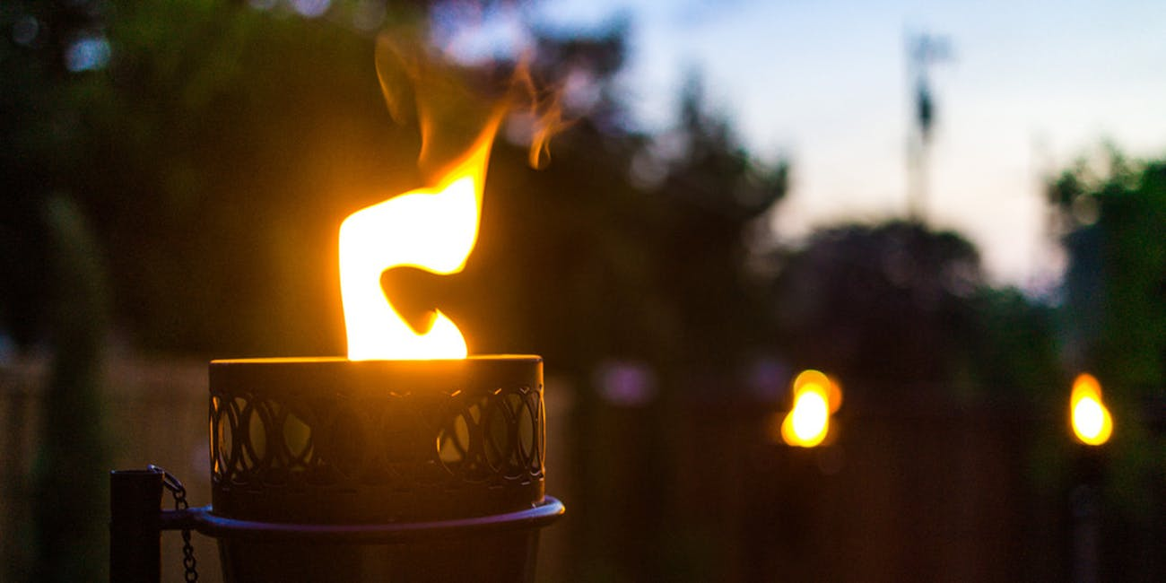 citronella tiki torch mosquito repellant