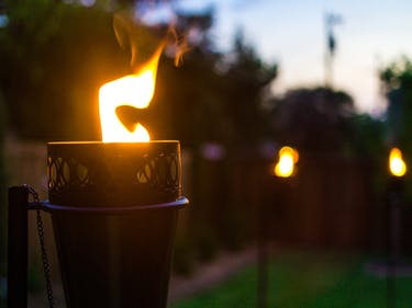 citronella tiki torch mosquito repellant