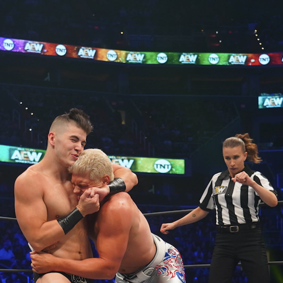 AEW is disrupting the wrestling world, one suplex at a time