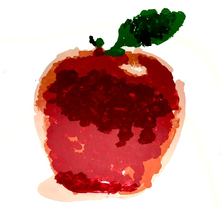 apple robotic art competition A.I. paint