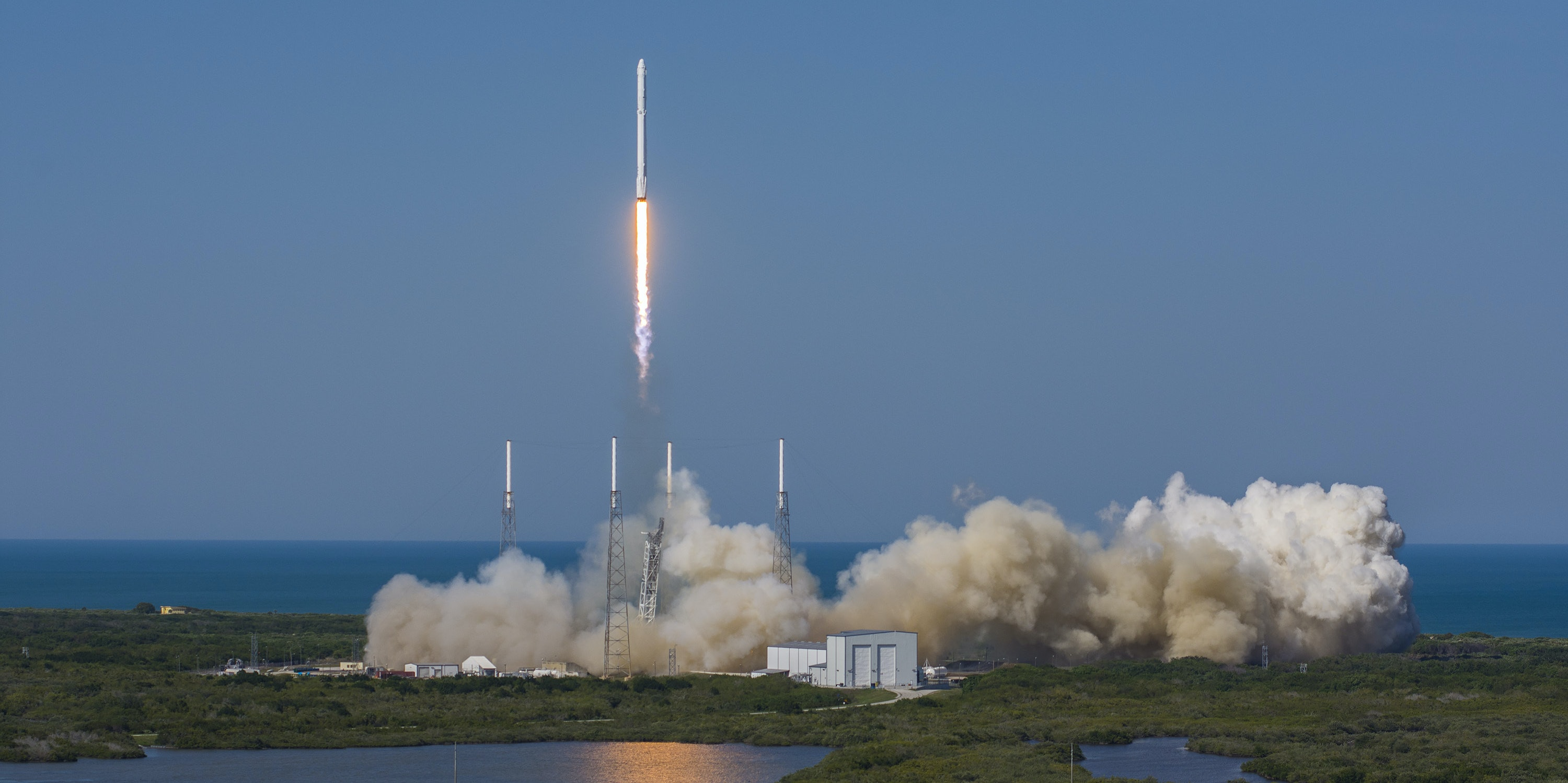 SpaceX frequently launches rockets from Cape Canaveral, Florida