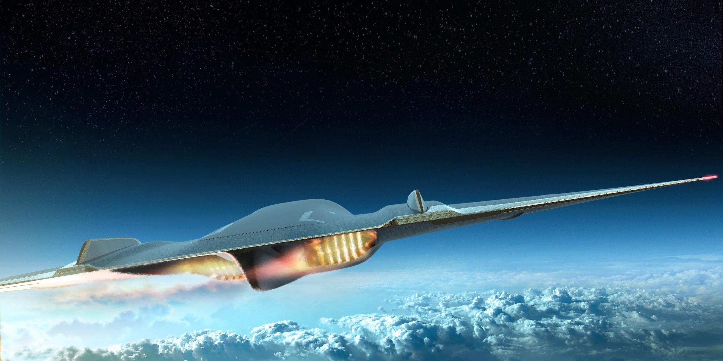 A rendering shows Paradoxal in flight.