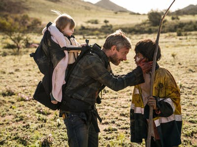Martin Freeman plays a frustrated father in the zombie apocalypse in 'Cargo'.