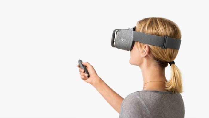 Google's newest VR platform 'Daydream.'