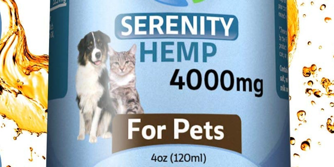 Serenity Hemp Oil for Dogs and Cats