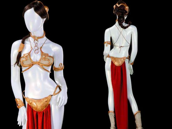 Star Wars 'Slave Leia' Costume Sells for $96,000 at Auction