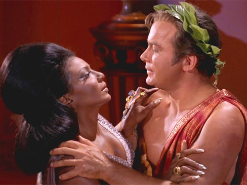 How Kirk Made the First Interracial Kiss on 'Star Trek' Happen
