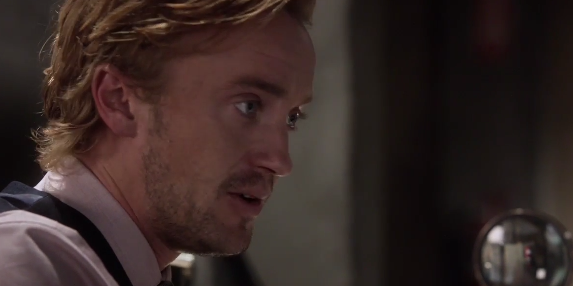 Tom Felton as Julian Dorn in CW's The Flash