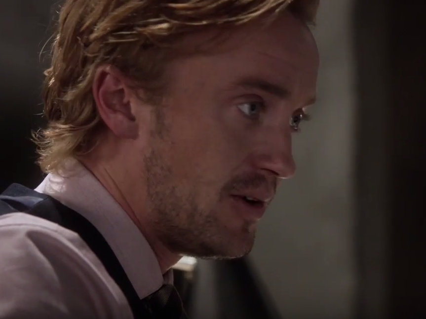 Tom Felton Channels Snape's Condescending Sneer on 'The Flash'