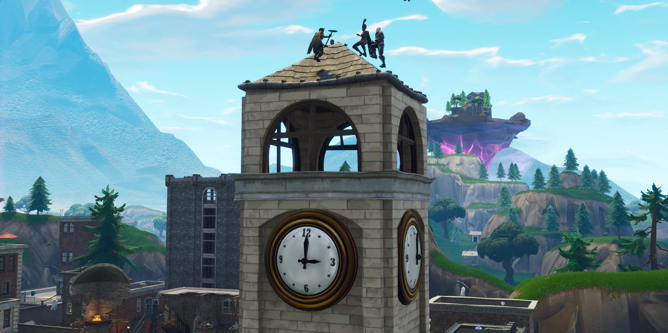 Fortnite Clock Tower