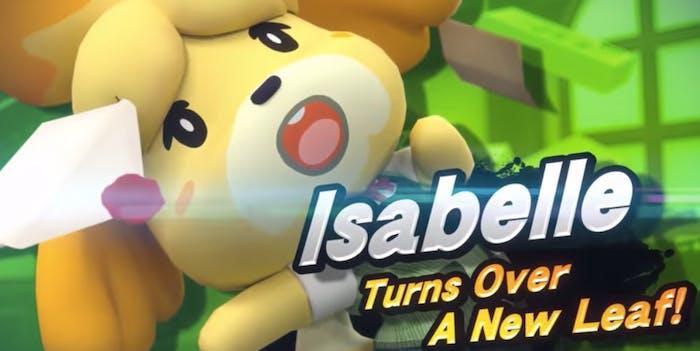super smash bros ultimate roster isabelle