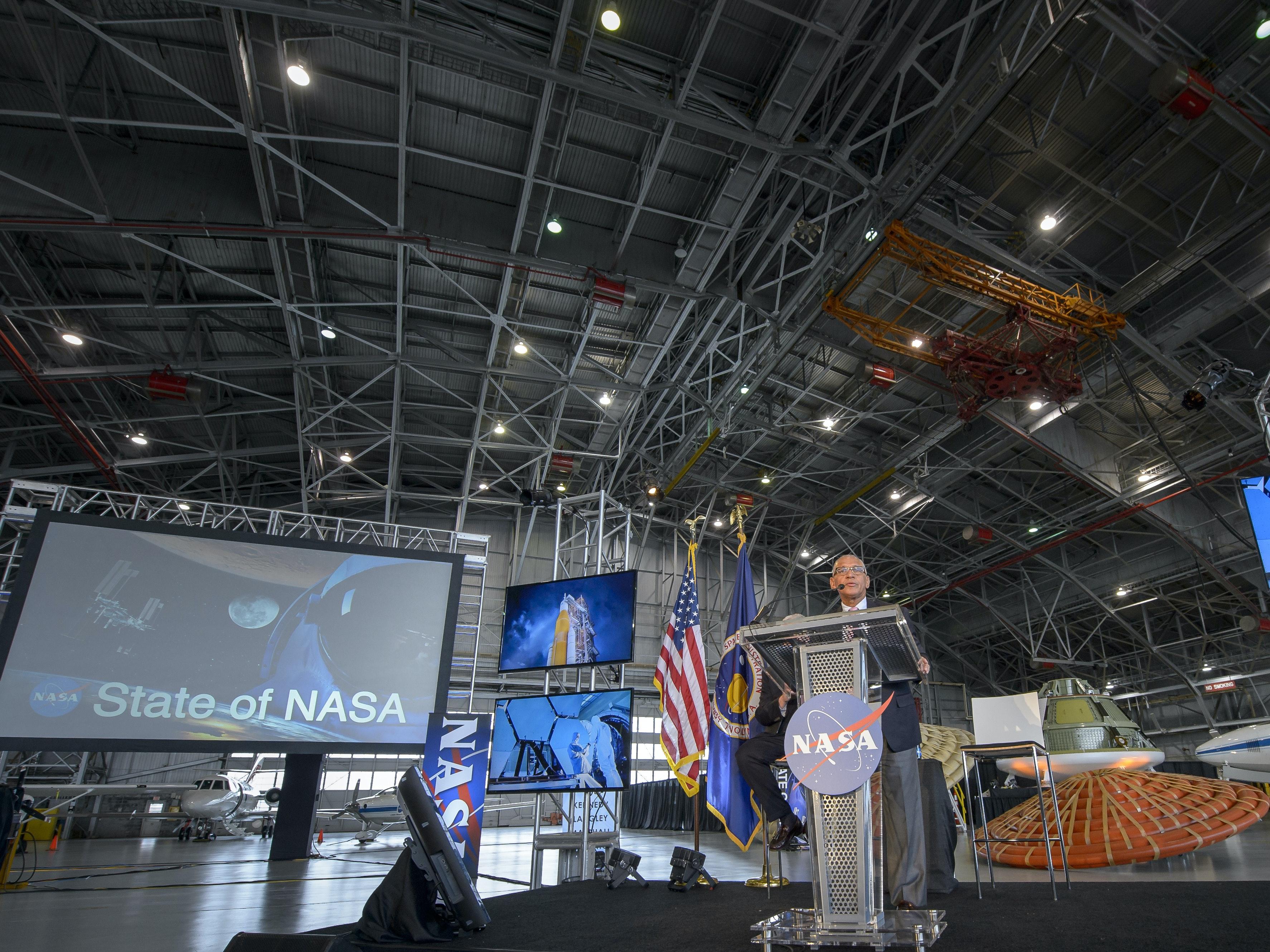 NASA Administrator Charles Bolden.