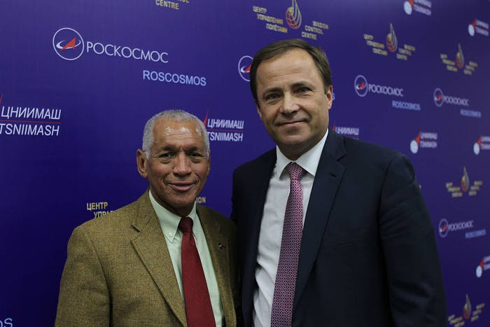 Charles Bolden and Igor Komarov