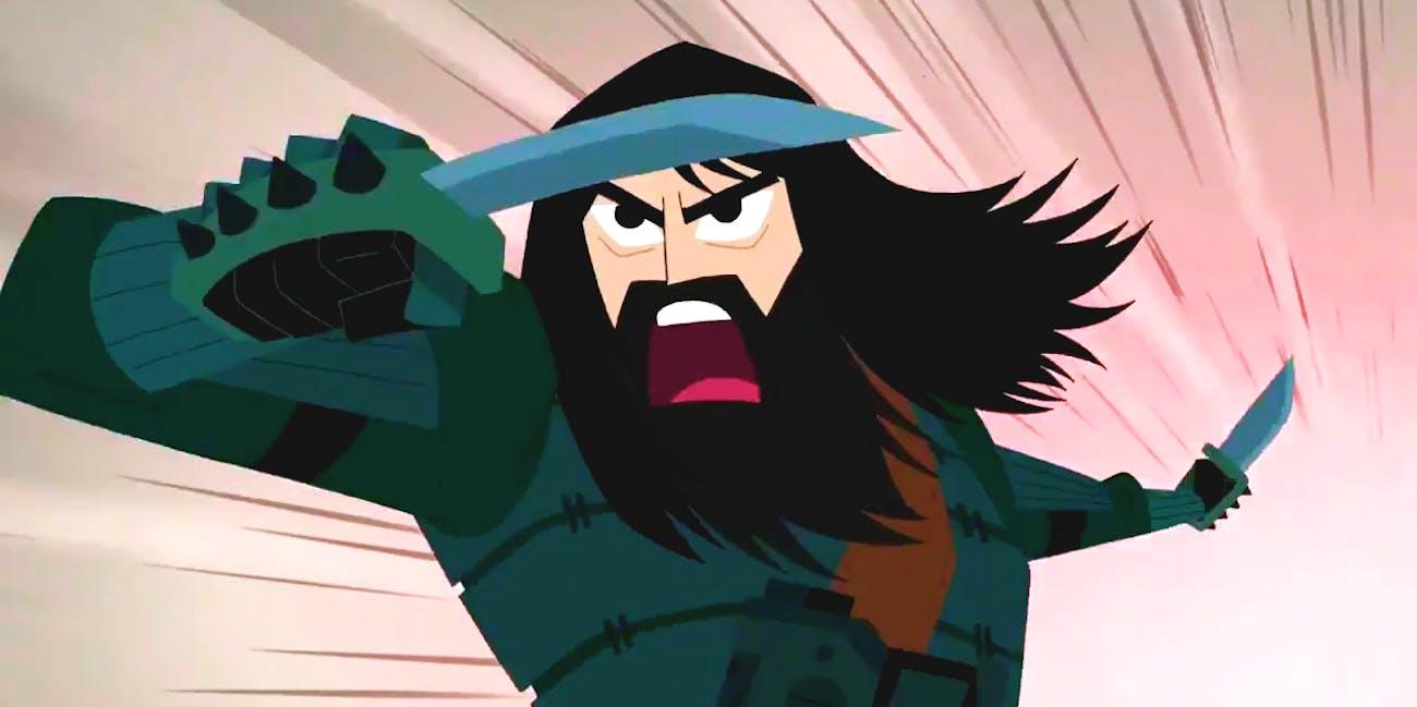 Samurai Jack in Season 5.