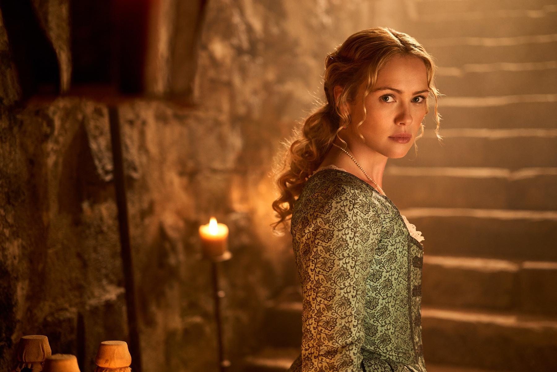 Hannah New as Eleanor Guthrie in 'Black Sails' Season 4