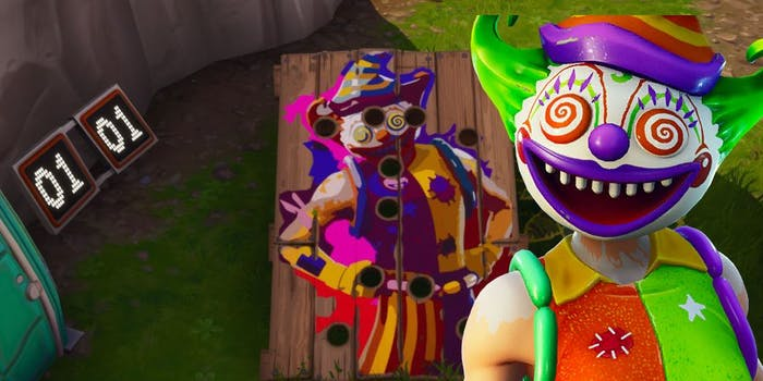 'Fortnite' Carnival Clown Board Locations