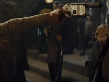 Chewbacca Rips Off Unkar Plutt's Arm in Deleted Scene