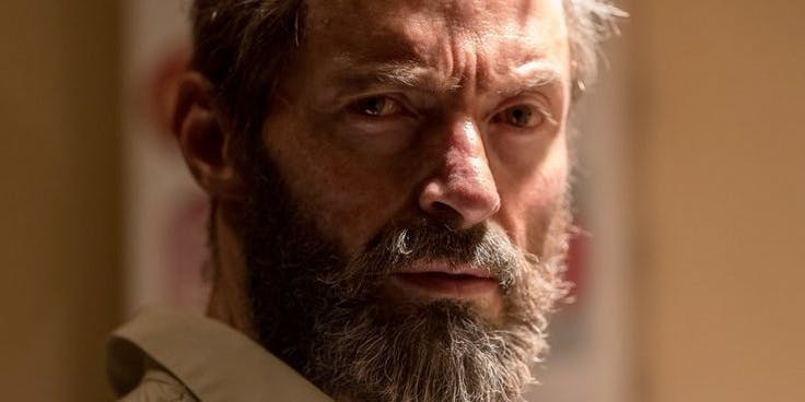 Hugh Jackman as Wolverine from Fox's upcoming Marvel film, 'Logan'