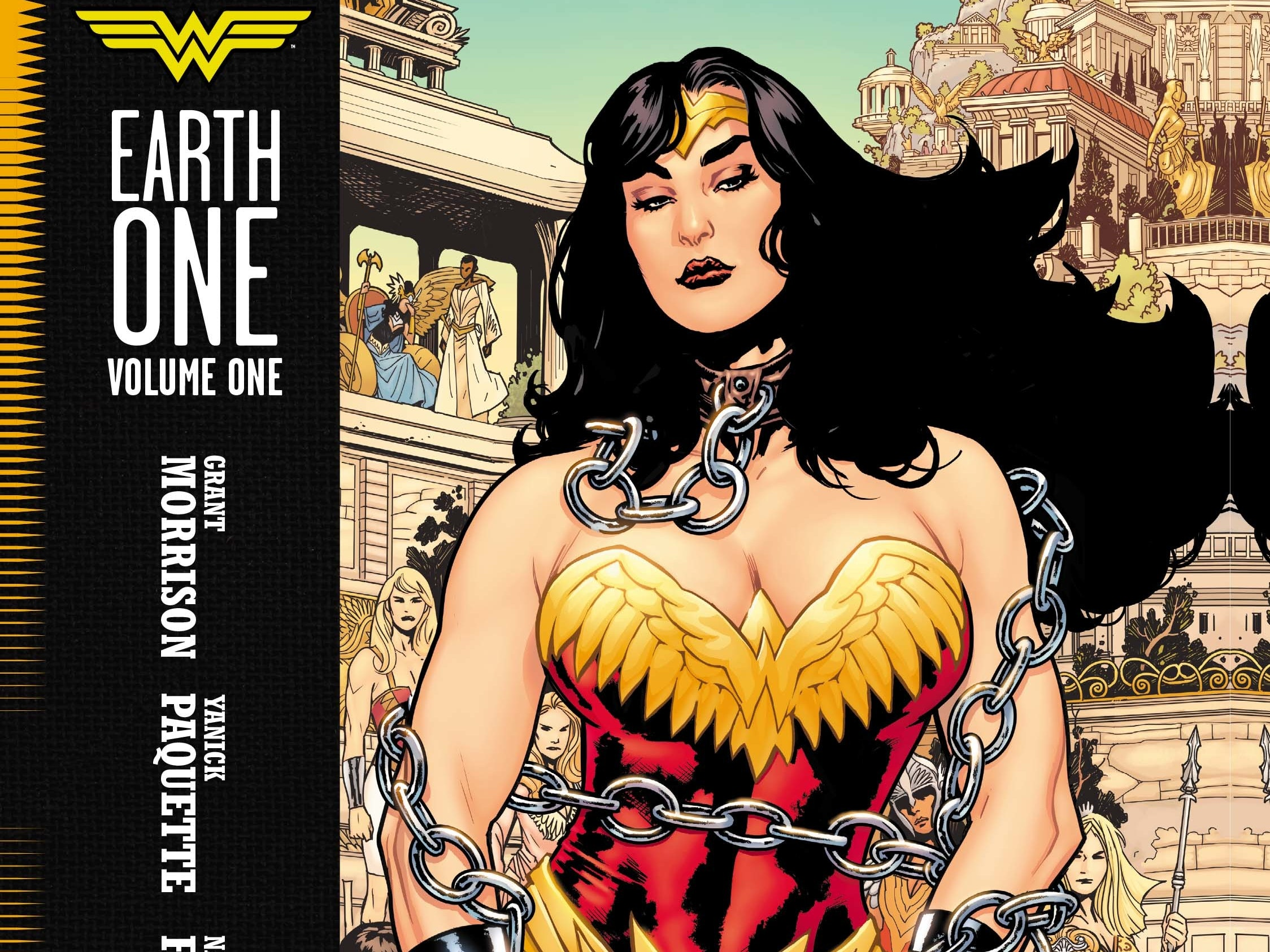 Wonder Woman Is Sexy Again Thanks to Grant Morrison and Yanick Paquette