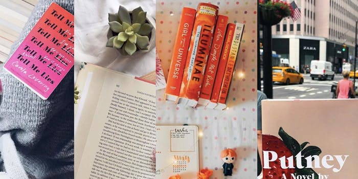 Bookstagram tag